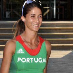 Sara Moreira, Sara Ribeiro e Salomé Rocha na Maratona de Valência