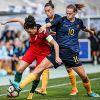Portugal bem encaminhado na Algarve Cup