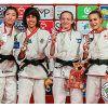 Catarina Costa com medalha de ouro no Grand Slam de Brasília em Judo