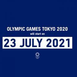 Jogos olímpicos entre 23 de Julho e 8 de Agosto de 2021