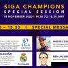 Siga Champions com Rosa Mota e Miguel Oliveira