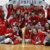 Benfica conquistou o 4º título de campeão nacional de Futsal (feminino)