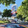 Lisboa homenageou Kobe Bryant em campo e prédio de doze andares