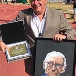 Moniz Pereira foi homenageado no ano do centenário pelo CNID e Associação de Atletismo Lisboa