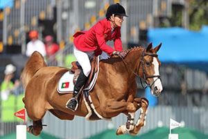 Prova individual de saltos de cavalo. Jogos Olímpicos Rio 2016.