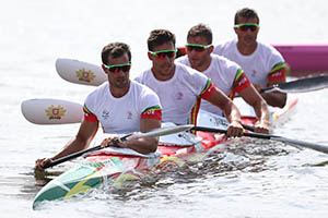 Final do K4 1000Mts. Jogos Olímpicos Rio 2016.