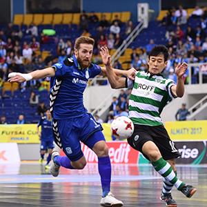 Pola (Inter FS) & Caio (Sporting Clube de Portugal)