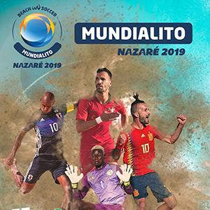 Mundialito de Futebol de Praia na Nazaré