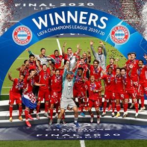 UEFA Champions League Bayern muniq 2020
