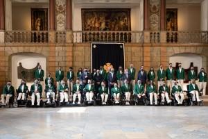 Cerimónia de despedida da Missão Paralímpica de Portugal aos